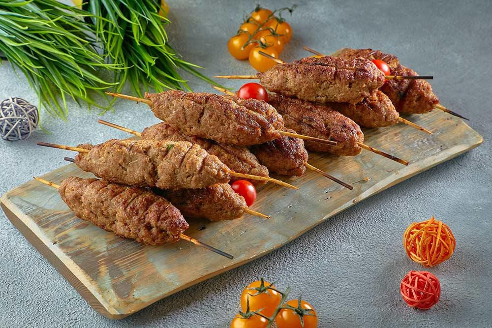 Люля кебаб из говядины, фото